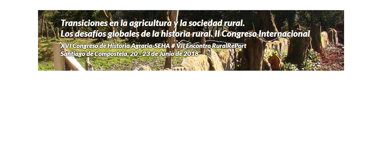 """Invitación envío de resúmenes: """"Las ruralidades de un mundo global: vectores de cambio socioeconómico y ambiental"""""""