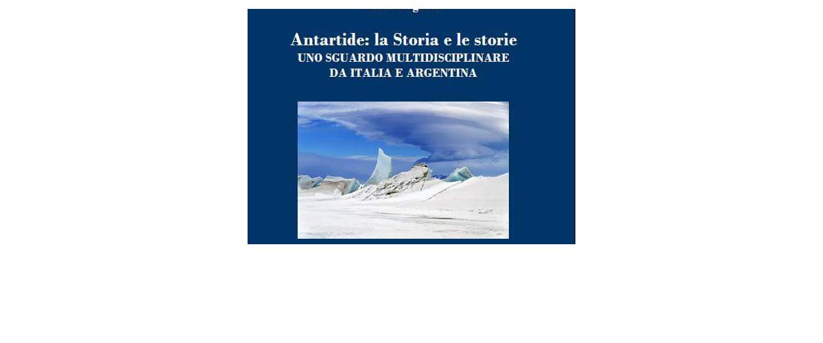 """NUEVO LIBRO: """"L'Antartide: la Storia e le storie"""""""