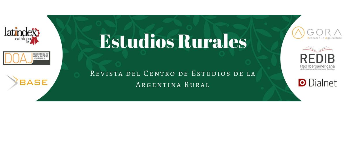 CONVOCATORIA ESTUDIOS RURALES